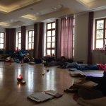 Yogaraum im Kloster